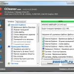 Скриншот окна очистка файлов в CCleaner