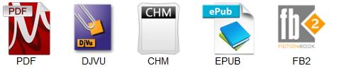 Форматы документов, которые поддерживает PDFMaster