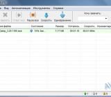 Download Master - список загрузок