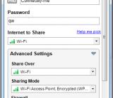 Connectify - создание точки доступа