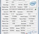 GPU-Z - информация о видеокарте Intel