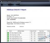 S.M.A.R.T отчет в HDDScan