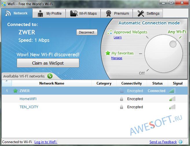 Скачать программу wifi на компьютер windows 7