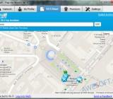 Карта Wi-Fi сетей в программе WeFi